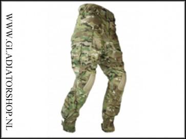 101inc tactical broek Warrior met kniebescherming DTC/multi cam