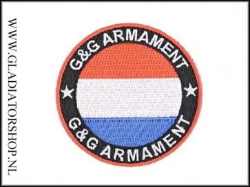 G&G Armament klittenband patch Nederlandse vlag rood, wit, blauw