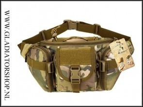 Tactical waterafstotende heuptas / fanny pack in diverse kleuren
