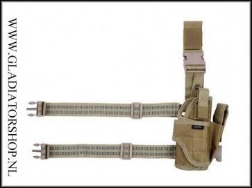 101inc Verstelbare holster Airsoft legergroen