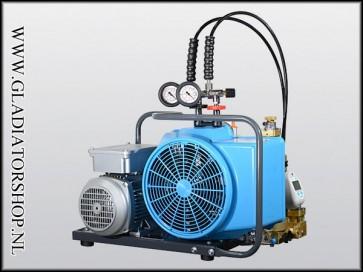 Bauer Junior 2 compressor 380 volt krachtstroom