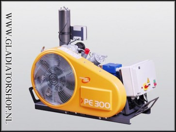 Bauer PE-300 TE compressor 380 volt krachtstroom
