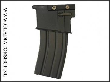 BT M16 style magazijn voor 21mm weaver mount