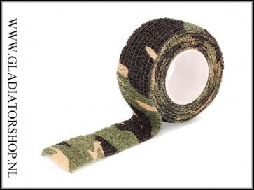Camouflage wrap tape woodland