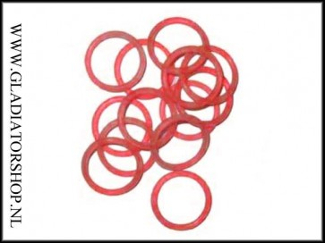 Co2 & HP valve & tank o-ring polyurethane rood