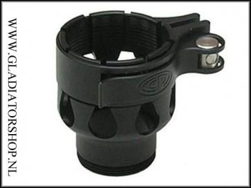 Custom Products clamping feedneck zwart voor Dye & Proto