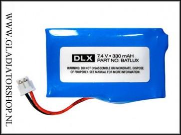 DLX Luxe oplaadbare batterij