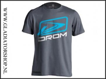 Drom Lightech T-Shirt Spirit grijs maat XL