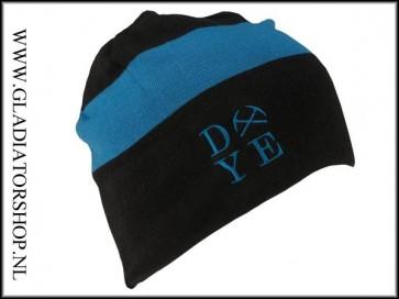 Dye Beanie 3AM blue blauw