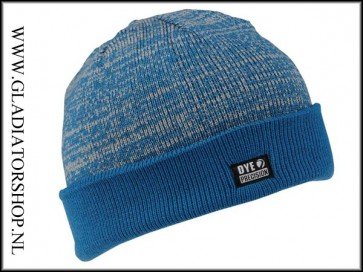 Dye Beanie Shredded Heather blauw