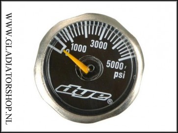 Dye regulator micro gauge 5000 psi