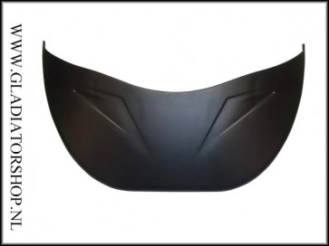 Empire EVS visor zwart