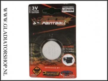 Energy Paintball 3 volt knoopcell / CR2032