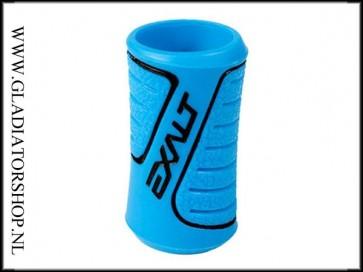 Exalt rubber regulator grip blauw zwart