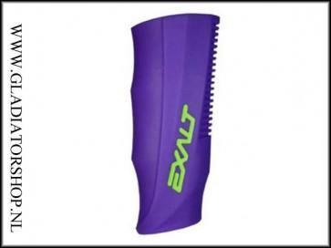 Exalt rubber regulator grip DLX Luxe paars lime