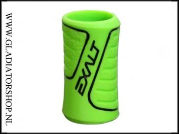 Exalt rubber regulator grip lime groen zwart