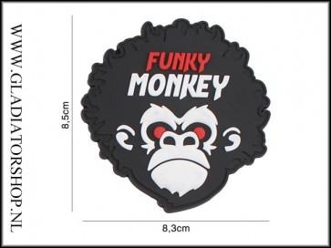 PVC Velcro Patch: Funky Monkey