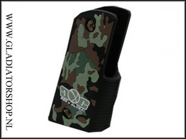 Gen-X 45 grip woodland camo
