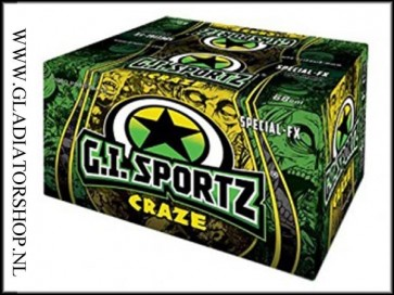 GI Sportz Craze FX 2000 glow in the dark paintballs