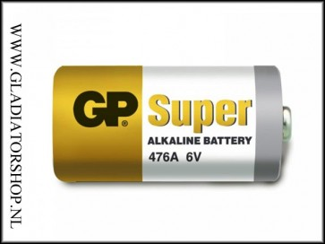 GP High Voltage batterij 6 volt