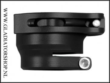 Macdev feed tube complete satin black