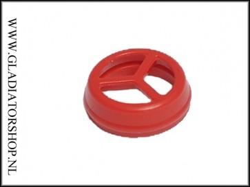 Macdev soft rubber bolt tip rood