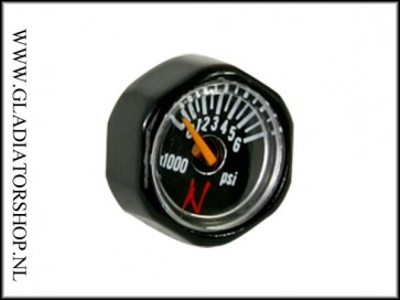 Ninja regulator micro gauge 6000 psi