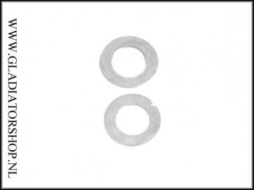 Ninja regulator pressure plate zilver