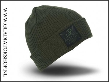 Eclipse Rollup Beanie olive