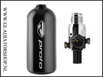 Proto 0,8L 200 bar perslucht fles inclusief regulator