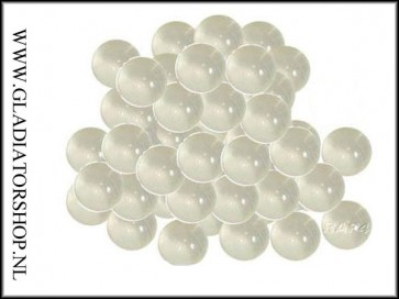 Rap4 AG1 clear paintballs zak 500