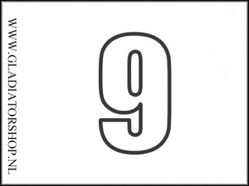 Hopper speler nummer - 9