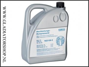 Synthetische compressor olie 5 liter
