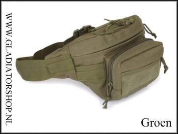 SWAT Tactical waterafstotende heuptas / fanny pack met camera ruimte in diverse kleuren
