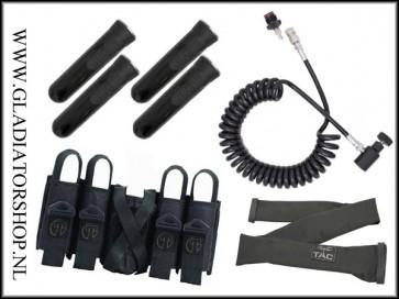 Tippmann battlepack & remote-line Bundel