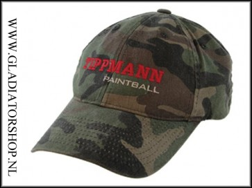 Tippmann Paintball logo cap camo L/XL