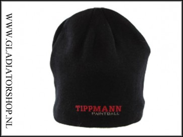 Tippmann Paintball logo beanie zwart