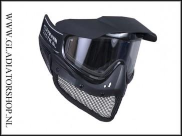 Tippmann Tactical Airsoft Mesh Masker Thermal Zwart