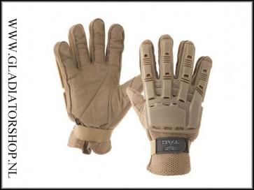 Valken V-Tac full vinger handschoen tan