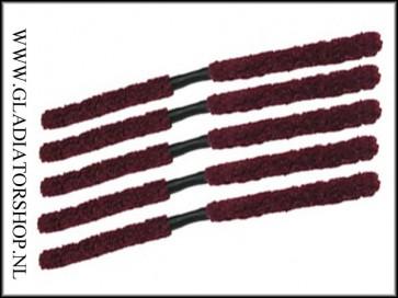 Warrior folding barrel swab rood 5-pack