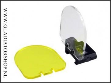 Tactical shield voor red-dot en scope's lens bescherming.