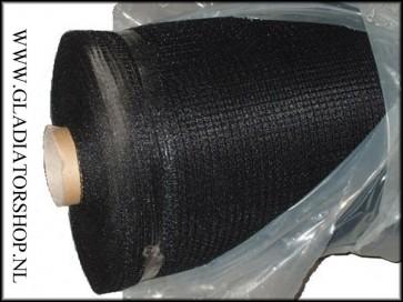 Zen paintball veiligheids-netting 4x100 meter zwart