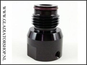 Zen regulator bonnet zwart