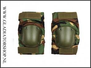101-INC Neopreen knie bescherming woodland camo knee pad