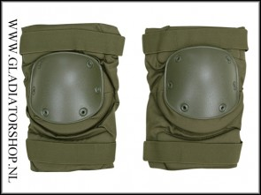 101-INC Neopreen knie bescherming groen knee pad