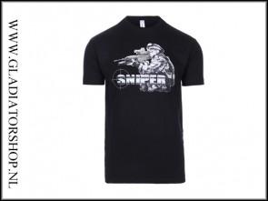 Black Ops Sniper T-shirt kleur zwart