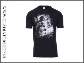 101inc T-shirt soldier skull