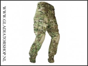 101inc tactical broek Warrior met kniebescherming DTC/multi cam