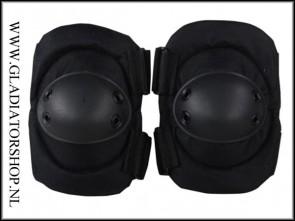 101-INC Tactical elleboog bescherming zwart