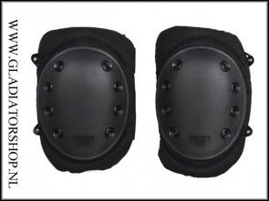 101-INC Tactical knie bescherming zwart